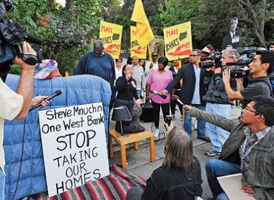 Mnuchinprotest