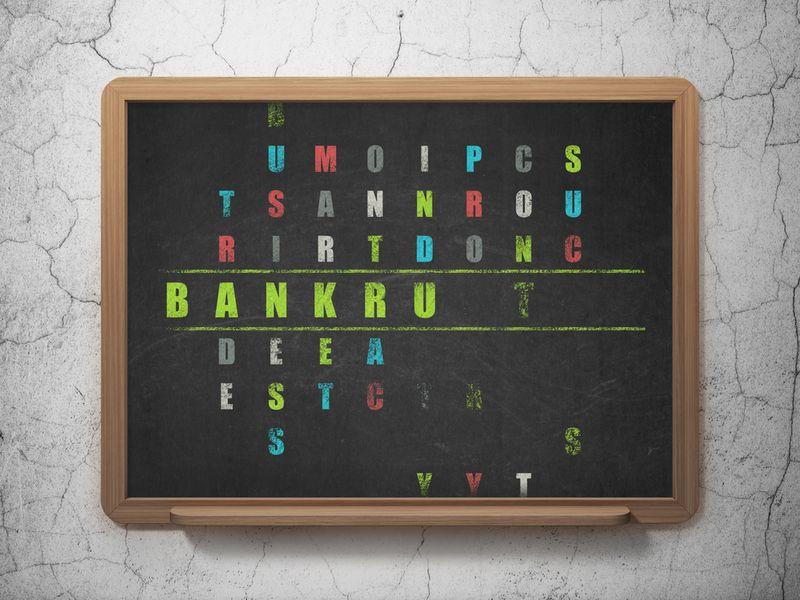 Schoolbankrupt